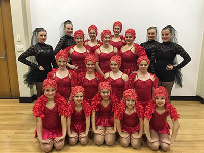 Aspley Dance Tuition for Annual Performance